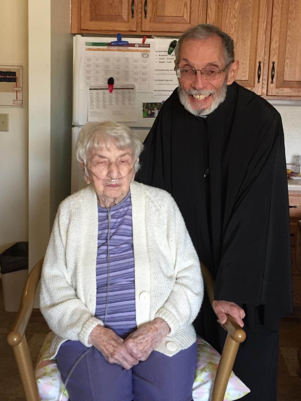 Jennie & Fr. Ambrose