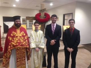 Fr. Christopher & altar boys